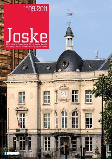 Mensuel de la Commune de Saint-Josse-ten-Noode Maandblad van ...