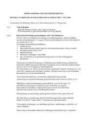 Referat fra generalforsamling 2006 - Horne Sommerland
