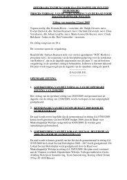 verslag 22 juni 2009 - OCMW Oudenburg