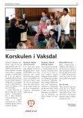 Side 1 - mars 11 - Velkomen til Den norske kyrkja i Vaksdal - Den ... - Page 5