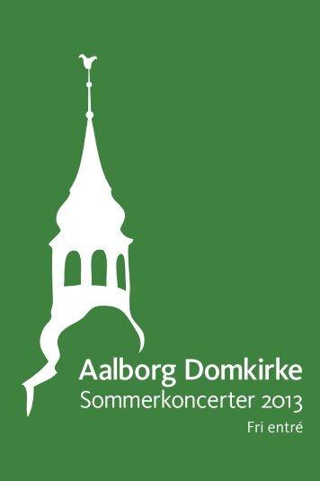 SOMMERKONCERTER 2013 - Budolfi Kirke