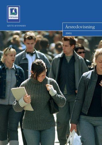 Årsredovisning 2001 - 6:e AP-fonden