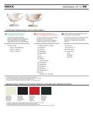 Combinazioni modelli & tessuti / Grid of models & fabrics ... - Konsepti