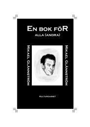 Ladda hem PDF - Mikael Glännström