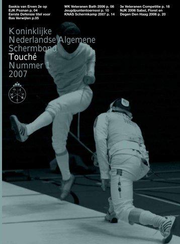 Koninklijke Nederlandse Algemene Schermbond Touché ... - Knas
