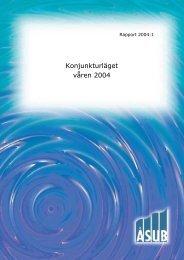Konjunkturläget våren 2004 - ÅSUB