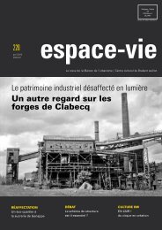 espace-vie - Patrimoine Industriel Wallonie-Bruxelles