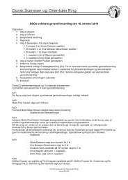 Generalforsamling den 16.10.2010 - Dansk Siameser & Orientaler ...