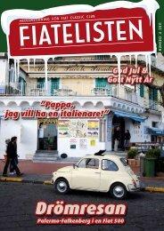 Fiatelisten nr. 4-11 - Fiat Classic Club