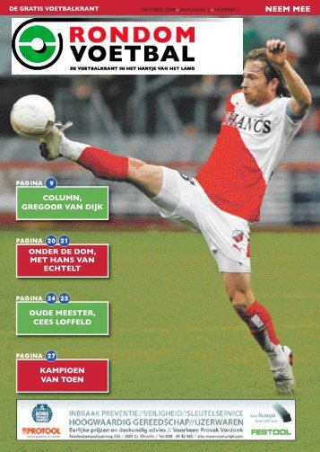 seizoen 2008/2009 nummer 2 - Rondom Voetbal