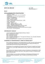 BÄSTE USL-MEDLEM! 25.1.2008 Medlemscirkulär nr 1 DEL ... - SKAL