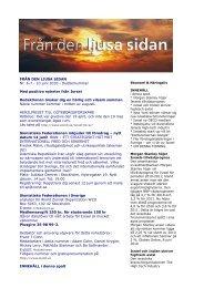 FRÅN DEN LJUSA SIDAN Nr. 6-7 - 10 juni 2010 - Sionistiska ...