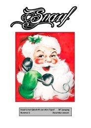 Snauf is het tijdschrift van chiro Tsjoef 30 jaargang Nummer 2 ...