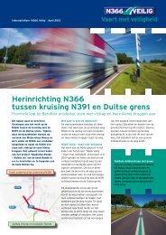 Herinrichting N366 tussen kruising N391 en Duitse ... - Hunze en Aa's
