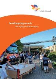 Rapport Bevolkingszorg op Orde - Veiligheidsberaad