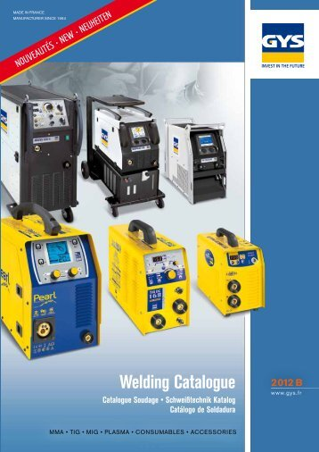 Welding Catalogue