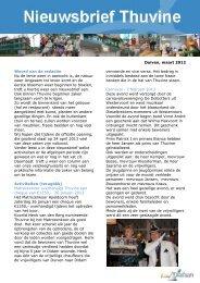 Duiven, maart 2012 Woord van de redactie Nu de lente ... - Diafaan
