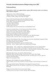 Litteraturlista (pdf)