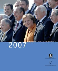 Jaarverslag Duitsland Instituut, 2007 - Duitsland Instituut Amsterdam