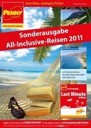 Sonderausgabe All-Inclusive-Reisen 2011