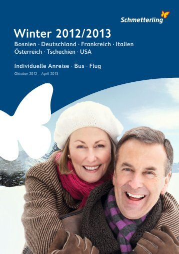 Schmetterling Winter 2012/2013