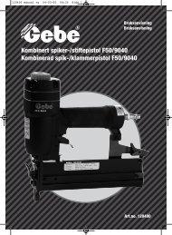 560210 Bruksanvisning - Mekk