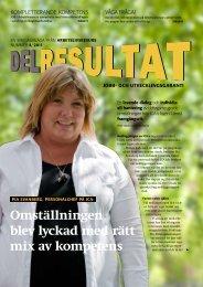 Delresultat 4-2011 Jobb - Arbetslivsresurs