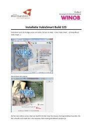 Installatie VubisSmart Build 123 - Winob