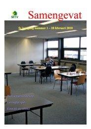 5e jaargang nummer 1 – 18 februari 2010 - Schaakcombinatie HTV