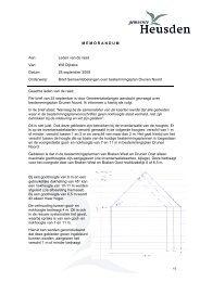 Brief Gemeentebelangen over be - Gemeente Heusden