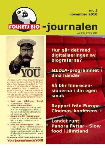 -journalen - Biografen Elektra
