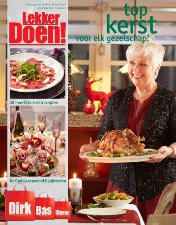 Dirk van den Broek / Dekamarkt - Kerst 2012 - Cameron studio