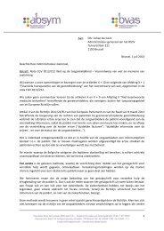 130701 Wetsontwerp toegangkelijkheid De COCK - Vlaams ...