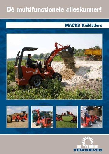 Brochure - Verhoeven Grondverzetmachines BV