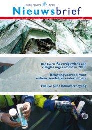 klik hier voor een pdf-file - Vlakglas Recycling Nederland