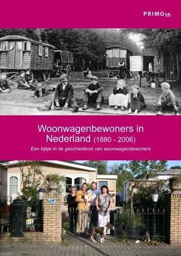 Woonwagenbewoners In Nederland PRIMO 2006 - Woonwagenwijzer
