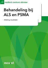 Behandeling bij ALS en PSMA - Mca