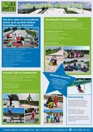 Download onze nieuwe folder voor zomerseizoen 2013 - Skipiste ...