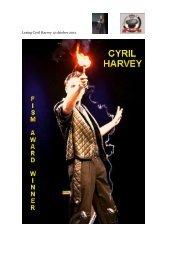 Lezing Cyril Harvey 12 oktober 2012