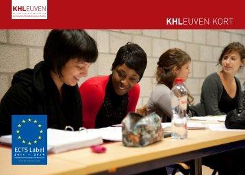 KHLEUVEN KORT - Katholieke Hogeschool Leuven