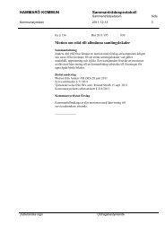 6. Motion om stöd till allmänna samlingslokaler, ks § 136 - Hammarö ...