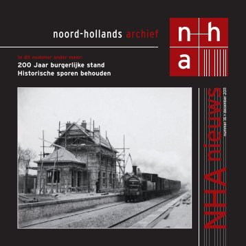 Nummer 16, december 2011 - Noord-Hollands Archief