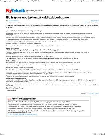 EU trappar upp jakten på ko...pdf - Maieutic