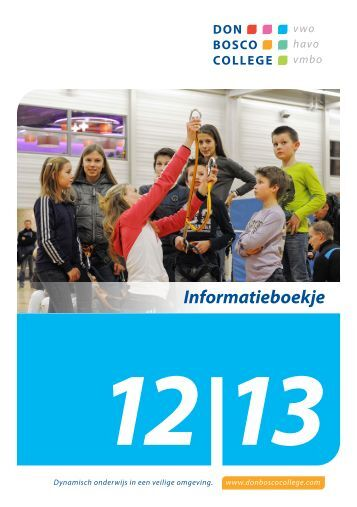 Informatieboekje 12 - Don Bosco College