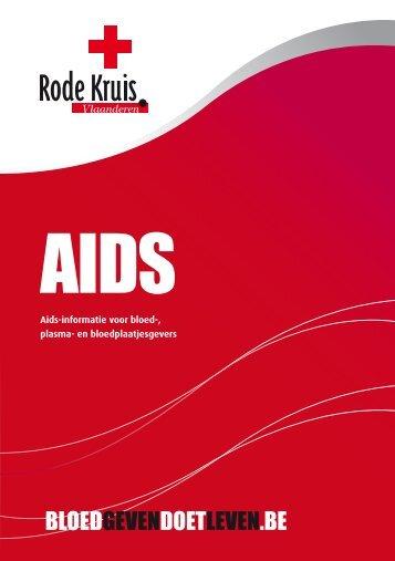 Aids-informatie voor bloed-, plasma - Rode Kruis Wuustwezel