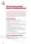 Aids-informatie voor bloed-, plasma - Rode Kruis Wuustwezel - Page 2
