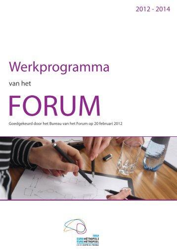 Werkprogramma van het Forum - Eurometropool ...