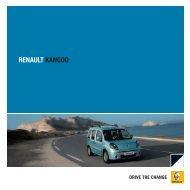 RENAULT KANGOO - Garage Van Brantegem