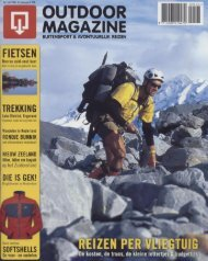 Outdoor Magazine - Werner Van Steen