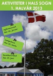 AKTIVITETER I HALS SOGN 1. HALVÅR 2013 - Hals og Hou Kirker